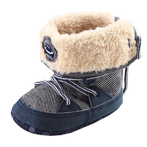 Winter Fleece Boots Badge Prewalker