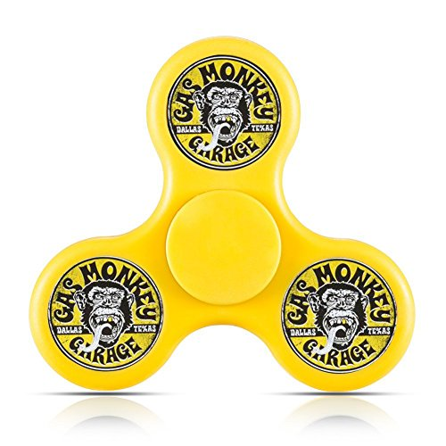 Price comparison product image 4Fun-For Fidget Spinner Gas Monkey Garage Logo Tri-Spinner High Speed Spin