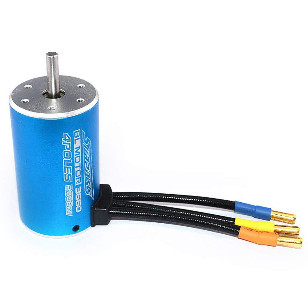 Littleice コンプリートモーター RC 1 / 18 16 HIMOTO MOTORE クラシックブラシレスセンサーレスBL 2430 7200KV 4Y ø2mm B07NL16M8N