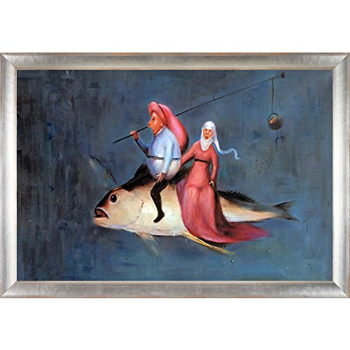 overstockArt The Temptation of St Anthony (Detail), 1460-1561 by Hieronymous Bosch Framed Hand Painted Oil on Canvas