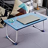 GZH Laptops Table Collapsible Bed Upper Use Dorm Learn Small Book Desk Rectangle (Color : 2#)