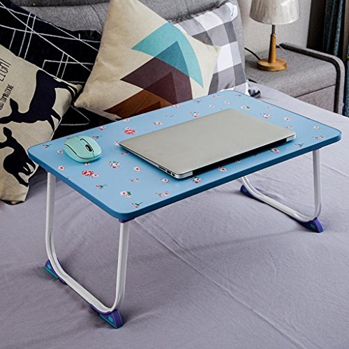 GZH Laptops Table Collapsible Bed Upper Use Dorm Learn Small Book Desk Rectangle (Color : 2#) by GZH