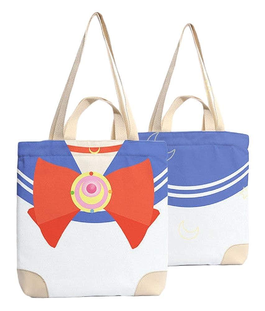 GKO Anime Sailor Moon Shopping Cloth Handbag Shoulder Bag Casual Prop