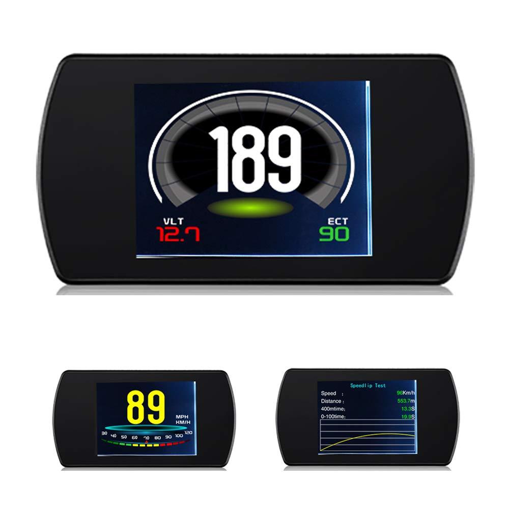 Auto OBDII Head Up Display, 4.3 ' ' OBD2 HUD Digital KMH/MPH Tacho Über Geschwindigkeit Alarm Auto Gängigen Fehler Code-Scanner 4.3 ' ' OBD2 HUD Digital KMH/MPH Tacho Über Geschwindigkeit Alarm Auto Gängigen Fehler Code-Scanner