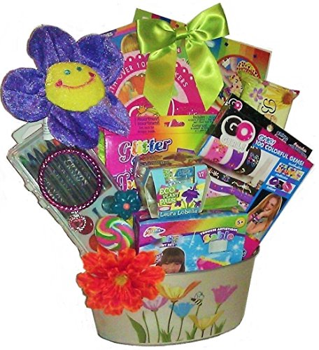 Doodles, Smiles and Fun Gift Basket (Girls 4 to 8)