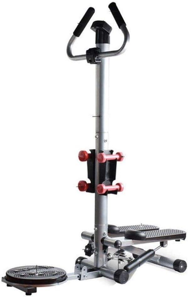 Hammer Escalera Paso a Paso Twister 3 en 1 Paso máquina de Ejercicios de Entrenamiento con la Barra de la manija y Pantalla LCD Cardio Trainer Subir escaleras: Amazon.es: Deportes y aire