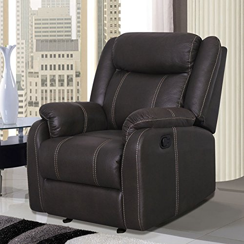 Price comparison product image Global Furniture USA Glider Recliner Chair Gin Rummy Seal