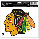 """NHL Chicago Blackhawks 20522091 Multi-Use Colored Decal, 5"""" x 6"""""""