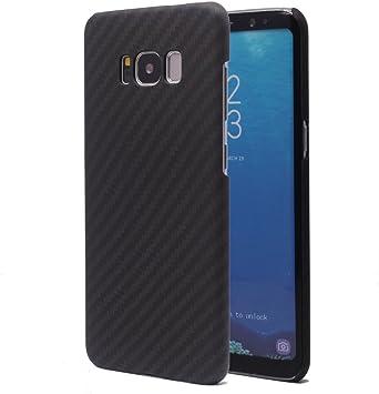 Funda Galaxy S8, FANSONG Ultra Ligero Funda Carcasa Fibra de Carbono La Textura Funda para Samsung Galaxy S8: Amazon.es: Electrónica