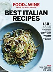 Over 130 Italian favorites from the pages of Food & WineBring the best Italian recipes, perfected in the Food & Wine Test Kitchen into your own kitchen in this Special Collector's Edition, Best Italian Recipes. Dozens of classic dishes are in...