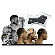 The Cut Buddy Beard template / Hairline Trimming Guide/ Mustache Grooming Guide - Lining / Shaping / Edging (Multi-Curve)