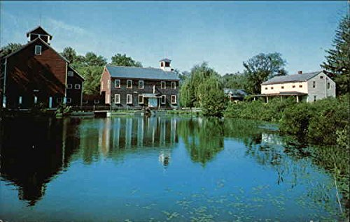 Old Mill Pond Village - Deming Craftsmen, Inc Granby, Connecticut Original Vintage Postcard