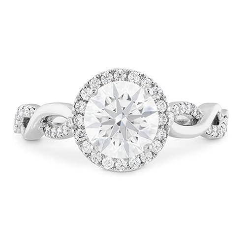 Forever Carat oro 14 quilates (585) oro blanco 14 quilates (585) diamante