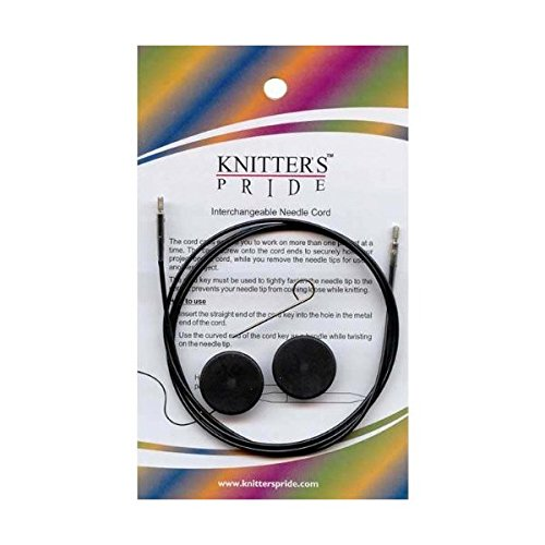 Knitter-s Pride Cords, 14'' (35 cm to make 60 cm/ 24'' IC needle)
