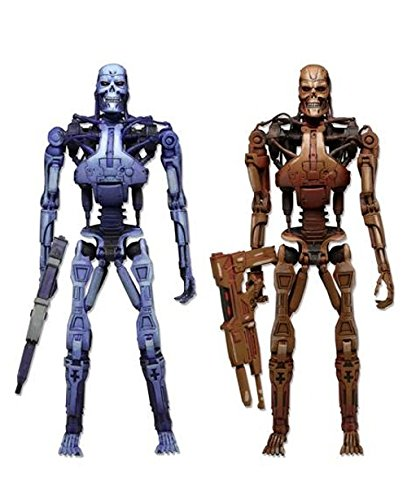 Terminator 2 Wing (Robocop vs Terminator / video game 7 inches Action Figure: End skeleton 2PK [Japan)