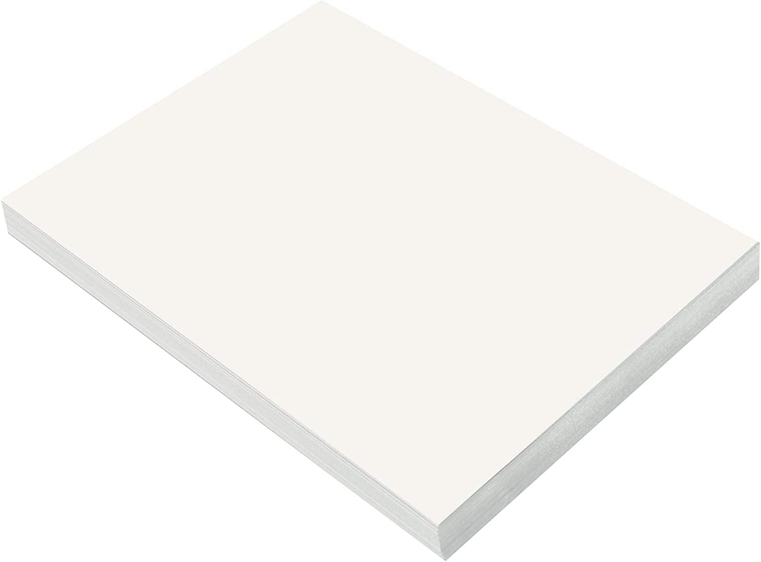 SunWorks Heavyweight Construction Paper, 9 x 12 Inches, White, 100 Sheets : Office Products