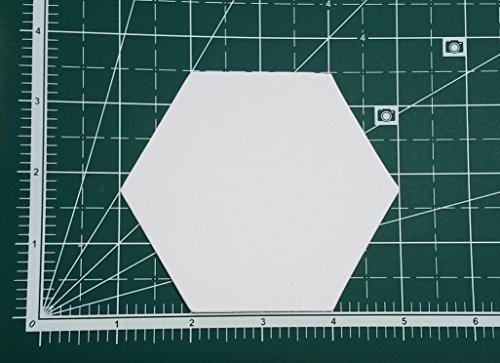 2'' Hexagon English Paper Piecing EPP Set (100 pieces) by English Paper Piecing