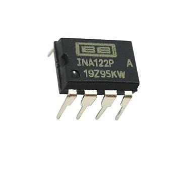 (1 pieza) ina122p DIP8 único suministro, Micropower amplificador de instrumentación