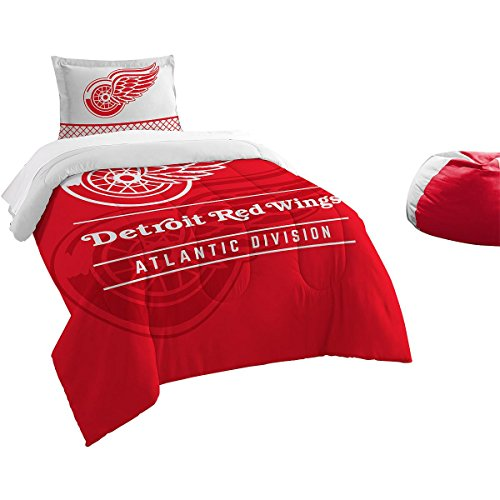 The Northwest Company Detroit RED Wings Draft Twin Comforter & SHAM Set