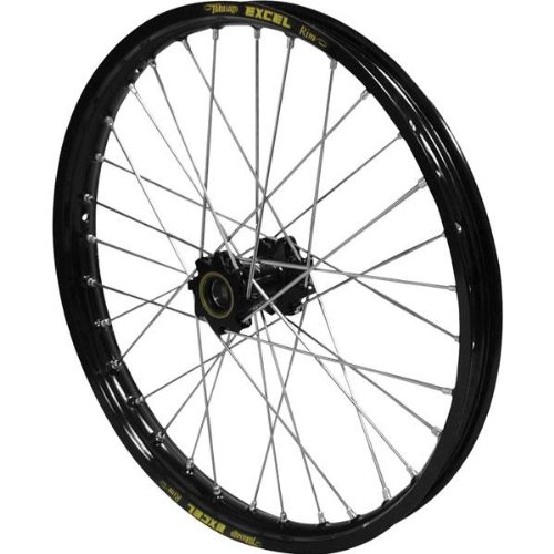 Excel Pro Series G2 Rear Wheel Set - 18 x 2.50 32H - Black Hub/Black Rim , Position: Rear, Rim Size: 18, Color: Black ()