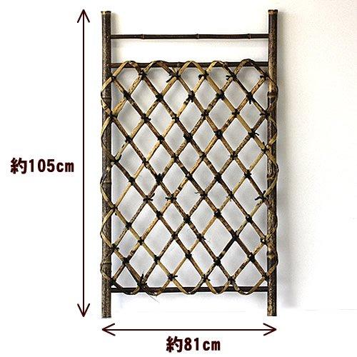 虎竹枝折戸(しおり戸) (3尺) B0099JQPI4 3尺  3尺