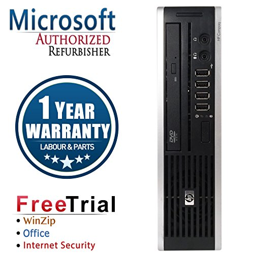 HP ELITE 8000 Ultra Small Form Business High Performance Desktop Computer mini PC,WIFI,(Intel C2D E8400 3.0G,4G RAM DDR3,160G HDD,DVD-ROM,Windows 10 Professional)(Certified Refurbished) -  CR16VFHPDT0047