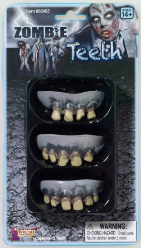 Costumes Fake Teeth (Zombie Rotted Fake Teeth Set)
