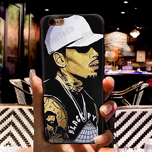 CHRIS BROWN HAT iphone case