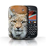 STUFF4 Phone Case / Cover for Blackberry Bold 9900 / Lynx/Bobcat Design / North America Animals Collection
