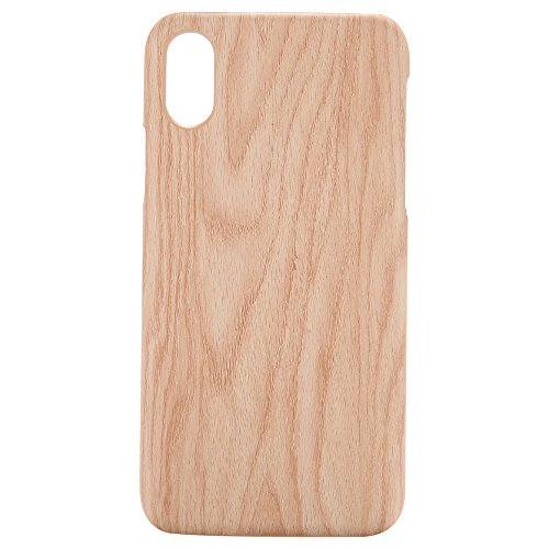 - AICEDA iPhone X Case Drop Proof Protective shell Accessories Carrying Case with Native Touch Feeling for iPhone X (Rubber Wood)