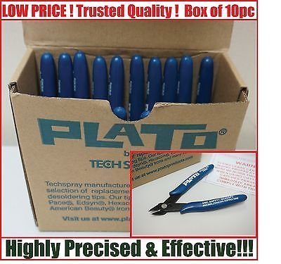 10pcs FLUSH CUTTER Blue for Plato Cutting Shears Model 170 Wire Cutter / Nipper / Plier Tools