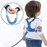 OFUN Toddler Harness Safety Leashes, Baby Leash for Walking, Anti Lost Wrist Link 2.5m, Walking Safety Harness for Kids, Toddler Leash Harness