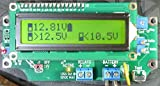 """1 Universal Relay Voltage Triggered Load Controller """"With Out/NO DELAYS, Circuit Board Only!"""" LVD HVD 1URVTLC-1224-BSD (Green LCD)"""