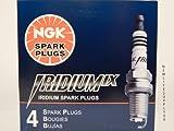 NGK 4344 LTR5IX-11 Spark Plug (Iridium IX) (pack of 4)