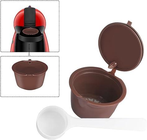OurLeeme Recargable Reutilizables Dolce Gusto Cã¡psulas de Cafã© Nescafé Compatible con Genio, Piccolo, esperta y Circolo: Amazon.es: Hogar