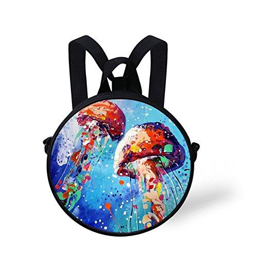 Women FancyPrint Bag Print Bag Shoulder Girls Stylish Casual and Round Dfgc500i BBOwZxq
