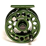 Galvan Rush Light 5 Fly Reel, Green - with $20 gift card