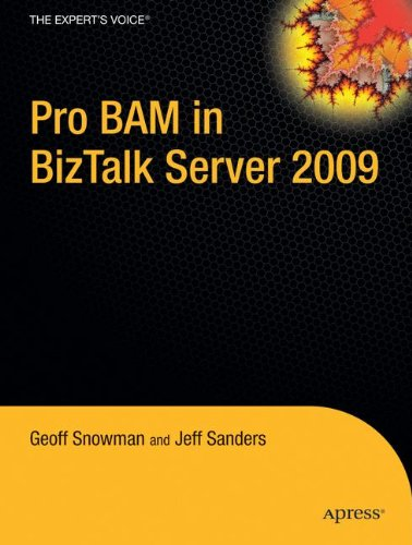 Pro BAM in BizTalk Server 2009 by Brand: Apress