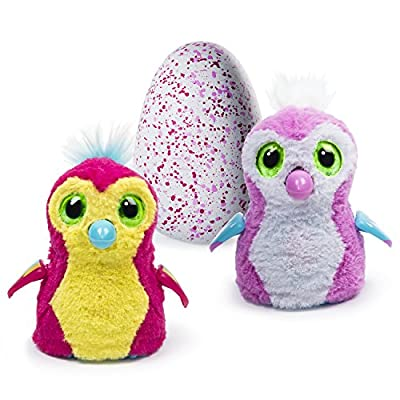 Hatchimals Penguala - Pink/Yellow: Hatching Egg - Pink Penguala: Toys & Games