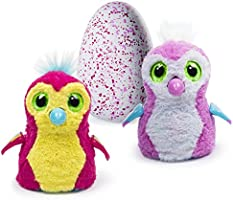 Hatchimals - Hatching Egg - Interactive Creature - Penguala - Pink Egg by Spin Master