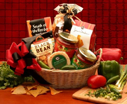 Snack Gift Lets Spice it up! Salsa Gift Basket