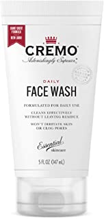 product image for Cremo Daily Face Wash Formulate For Daily Use, 5 Fluid Ounce