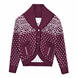 Product review for HeMa Island HMD Kids Boys Red Cardigan Shawl Sweate For Toddler 3 To 9 Years