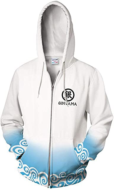 New Anime Inuyasha Zipper Jacket 3D Print Hoodie Sweatshirt Casual Cosplay Coat
