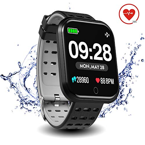 Surpro Smart Watch Heart Rate Monitor, 1.3