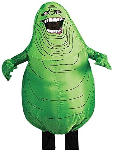 Ghostbusters Adult Inflatable Slimer Set, Green, Standard