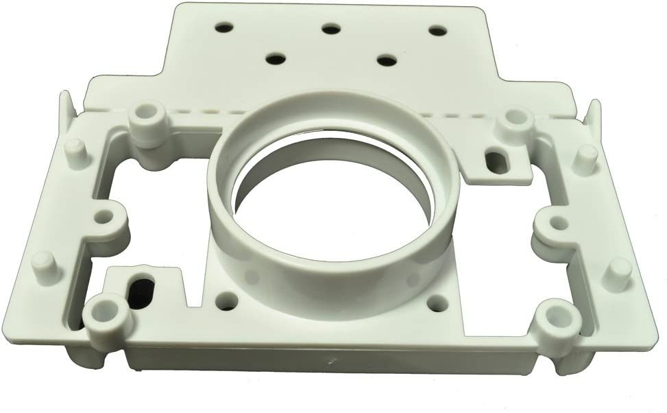 Generic Central Vacuum Cleaner PVC 2 Inch Pipe 3Way Mounting Plate Finished