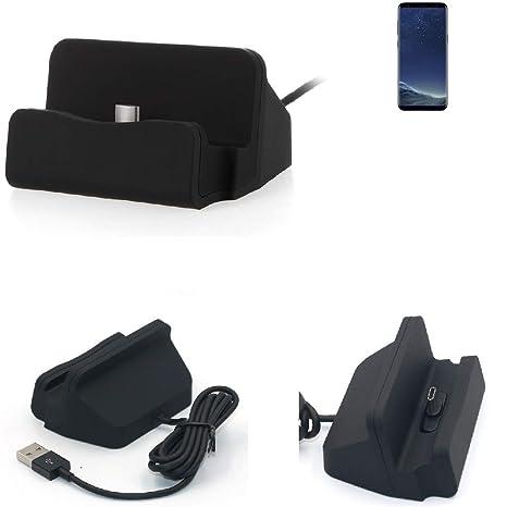 K-S-Trade Dock USB para el Samsung Galaxy S8, Negro ...