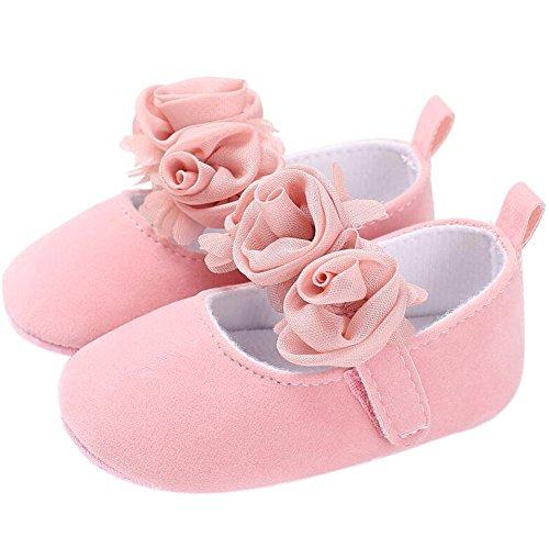 infant pink dress shoes - 6