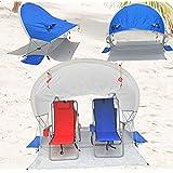 Deluxe 360 View Aerodynamic Beach Shader / Cabana UPF 100+ with Max Ventilation